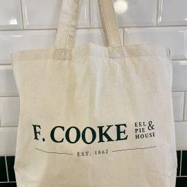 F.Cooke tote bag